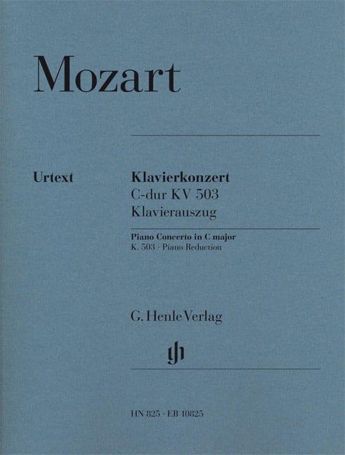 Concerto Pour Piano N° 25 En Do Majeur KV 503 - laflutedepan.com