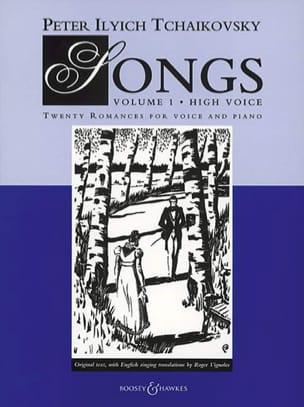 Songs Volume 1. Voix Haute TCHAIKOVSKY Partition laflutedepan
