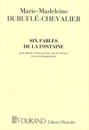 6 Fables de la Fontaine Choeur 2 et 3 Voix de Femmes laflutedepan