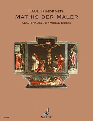 Mathis Der Maler HINDEMITH Partition Opéras - laflutedepan