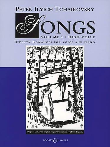 Songs Volume 1. Voix Haute - TCHAIKOVSKY - laflutedepan.com