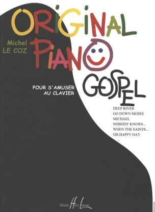 Original Piano Gospel Michel LE COZ Partition Piano - laflutedepan