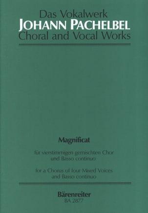 Magnificat Anima Mea Ré Majeur PACHELBEL Partition laflutedepan