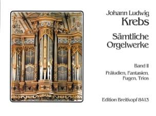 Sämtliche Orgelwerke Volume 2 Johann Ludwig Krebs laflutedepan