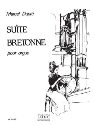 Suite Bretonne Opus 21 DUPRÉ Partition Orgue - laflutedepan