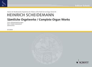 Sämtliche Orgelwerke Volume 4 Heinrich Scheidemann laflutedepan