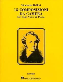 15 Composizioni da Camera - Voix Haute BELLINI Partition laflutedepan