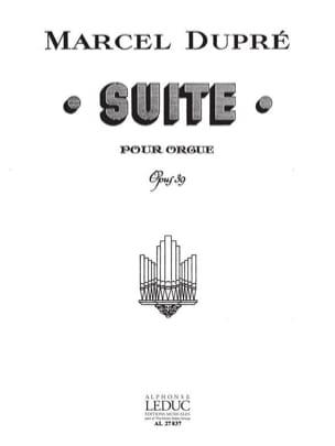 Suite Opus 39 DUPRÉ Partition Orgue - laflutedepan