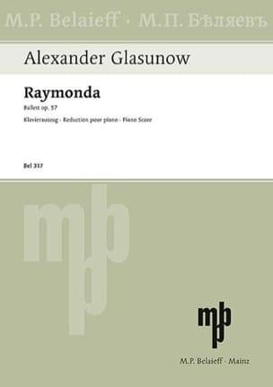 Raymonda Opus 57 GLAZOUNOV Partition Piano - laflutedepan