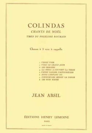 Colindas Opus 87 - Jean Absil - Partition - Chœur - laflutedepan.com