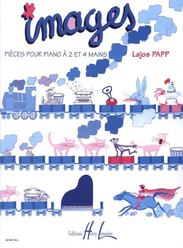 Images - Lajos Papp - Partition - Piano - laflutedepan.com
