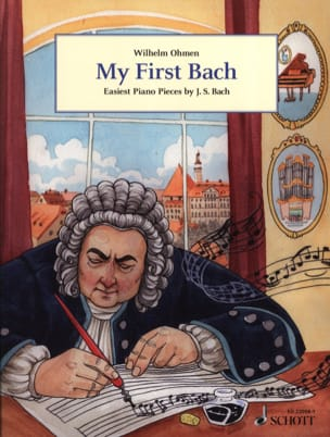 My first Bach BACH Partition Piano - laflutedepan