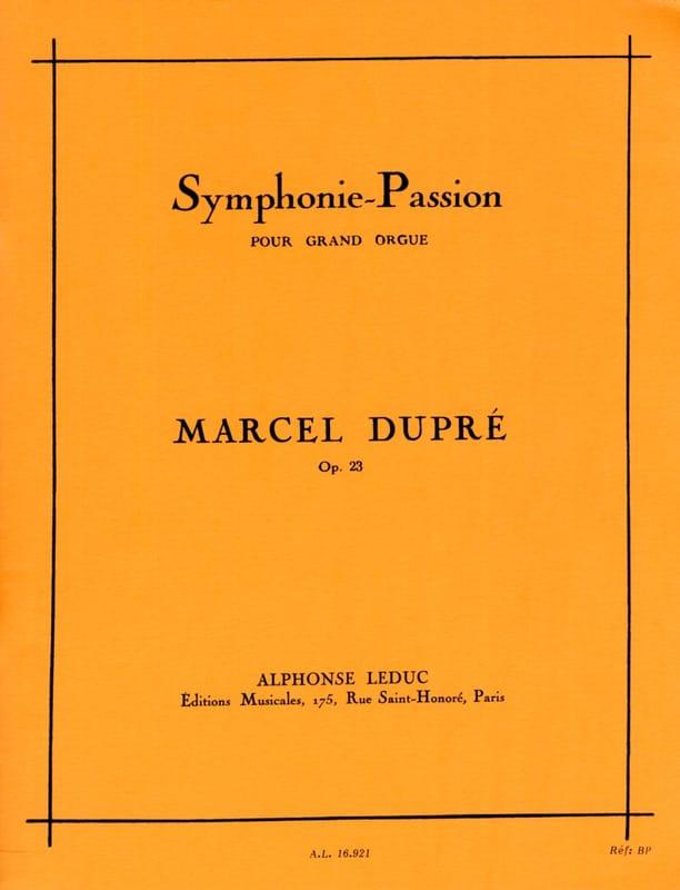 Symphonie Passion Opus 23 - DUPRÉ - Partition - laflutedepan.com