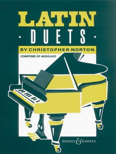 Latin Duets - christopher Norton - Partition - laflutedepan.com