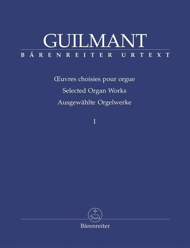 Oeuvres Choisies Pour Orgue Volume 1 - laflutedepan.be