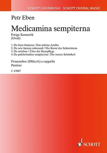 Medicamina sempiterna - Ewige Kosmetik - Petr Eben - laflutedepan.com