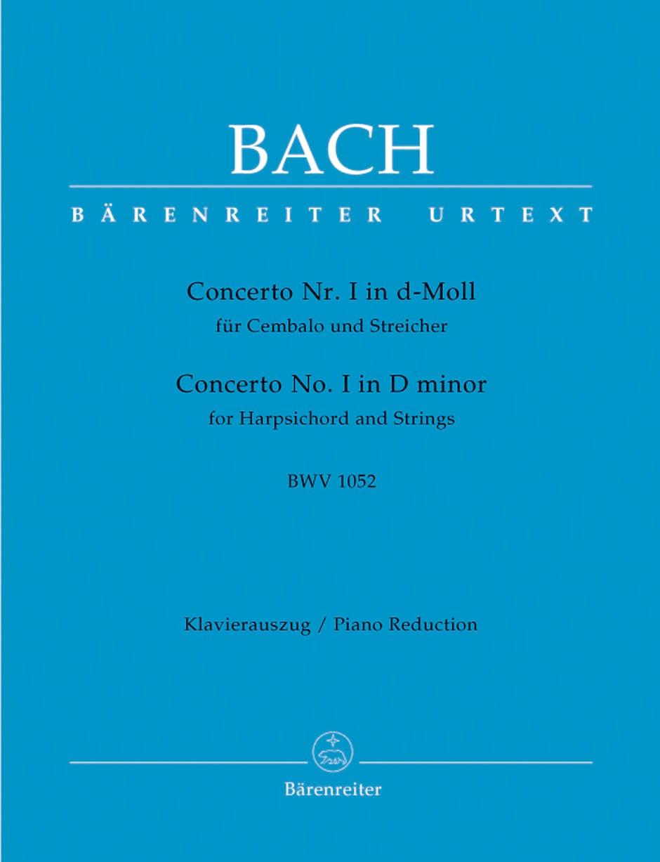 Concerto Pour Clavier En Ré Mineur BWV 1052 - BACH - laflutedepan.com