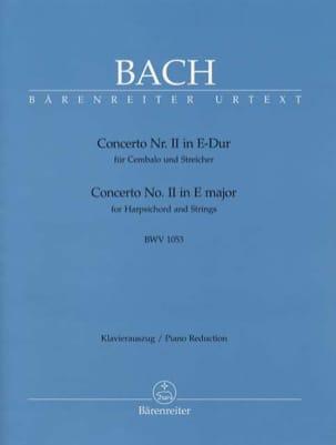 Concerto Pour Clavier En Mi Majeur BWV 1053 BACH laflutedepan