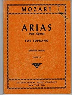 40 Arias from Operas Soprano Volume 3 MOZART Partition laflutedepan