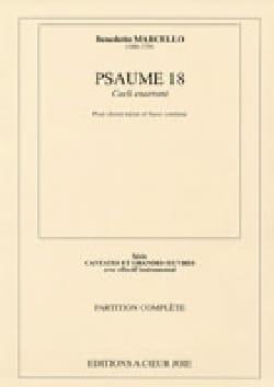 Psaume 18 : Caeli Enarrant Benedetto Marcello Partition laflutedepan