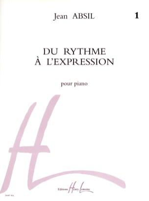 Du Rythme A L'expression Volume 1 Jean Absil Partition laflutedepan