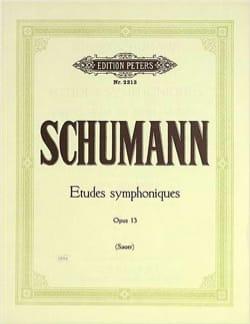 Etudes Symphoniques Opus 13 SCHUMANN Partition Piano - laflutedepan