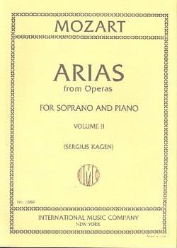 40 Arias from Operas Soprano Volume 2 MOZART Partition laflutedepan