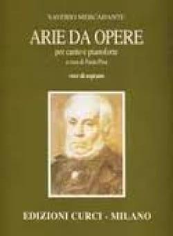 Arie Da Opere Baryton Saverio Mercadante Partition laflutedepan
