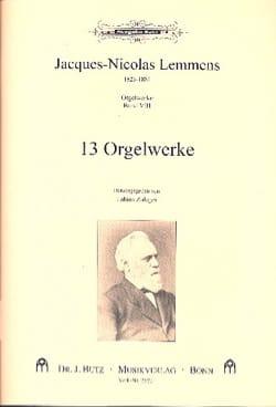 Orgelwerke. Volume 8 Jacques Nicolas Lemmens Partition laflutedepan