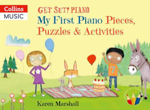 Get Set! Piano - My First Piano Pieces, Puzzles & Activities - laflutedepan.com