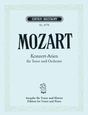 Konzert-Arien Ténor - MOZART - Partition - Mélodies - laflutedepan.com
