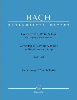 Concerto Pour Clavier En La majeur BWV 1055 BACH laflutedepan