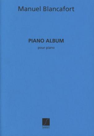 Piano Album Manuel Blancafort Partition Piano - laflutedepan
