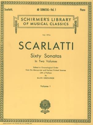 60 Sonatas. Volume 1 SCARLATTI Partition Clavecin - laflutedepan