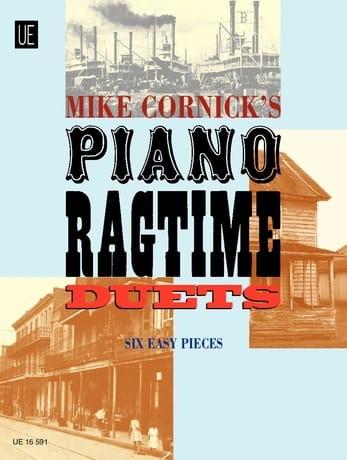 Piano Ragtime Duets - Mike Cornick - Partition - laflutedepan.com