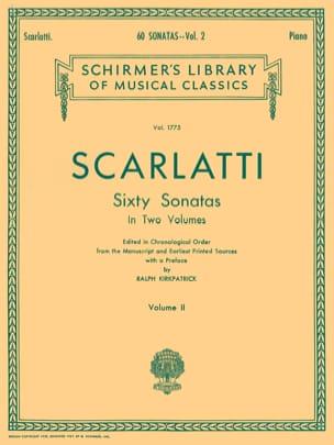 60 Sonatas Volume 2 SCARLATTI Partition Clavecin - laflutedepan