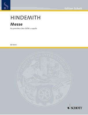 Messe 1963 - HINDEMITH - Partition - Chœur - laflutedepan.com