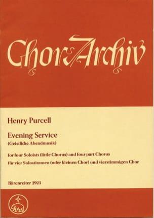 Evening Service Magnificat und Nunc dimittis PURCELL laflutedepan