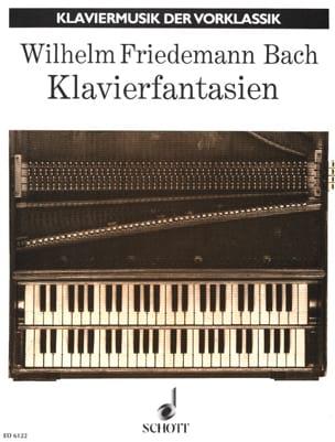 Klavierfantasien Wilhelm Friedemann Bach Partition laflutedepan