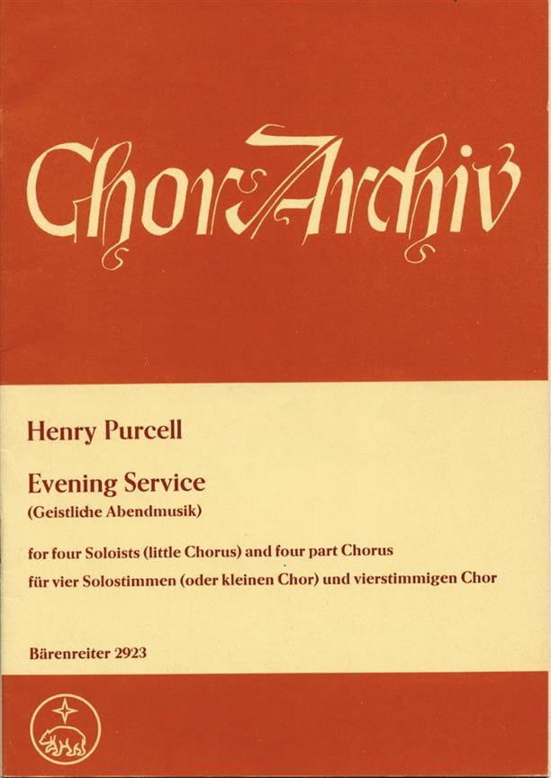 Evening Service Magnificat und Nunc dimittis - laflutedepan.com