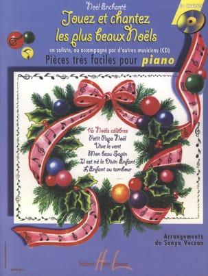 Jouez et Chantez les Plus Beaux Noëls Sonya Veczan laflutedepan