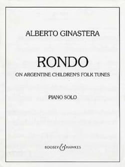 Rondo GINASTERA Partition Piano - laflutedepan