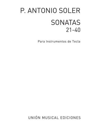 Sonates. Volume 2 Antonio Soler Partition Clavecin - laflutedepan