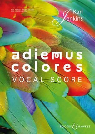 Adiemus colores Karl Jenkins Partition Chœur - laflutedepan