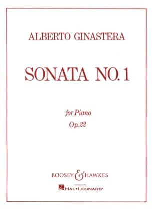 Sonate Pour Piano N° 1 Opus 22 - GINASTERA - laflutedepan.com