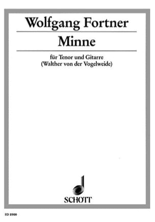 Minne - Wolfgang Fortner - Partition - Guitare - laflutedepan.com