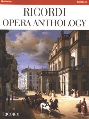 Ricordi Opera Anthology - Baryton - Partition - laflutedepan.com