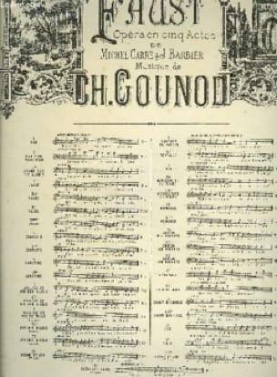 Air des Bijoux. Faust. Mezzo - GOUNOD - Partition - laflutedepan.com