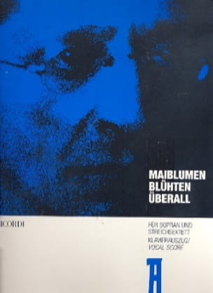 Maiblumen Blüten Uberall - ZEMLINSKY - Partition - laflutedepan.com