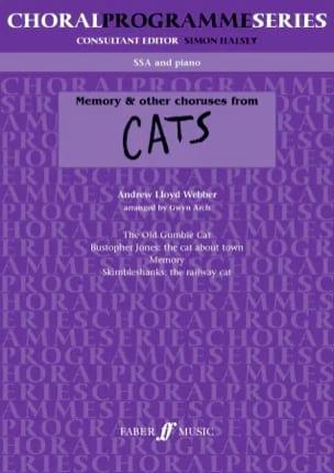 Memory & Autres Choeurs de Cats. Ssa Webber Andrew Lloyd laflutedepan